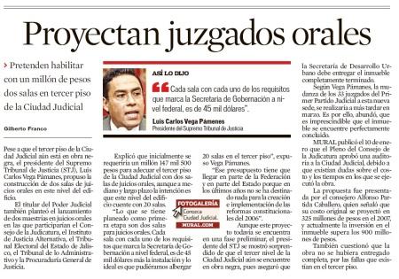 Juicios Orales en Jalisco