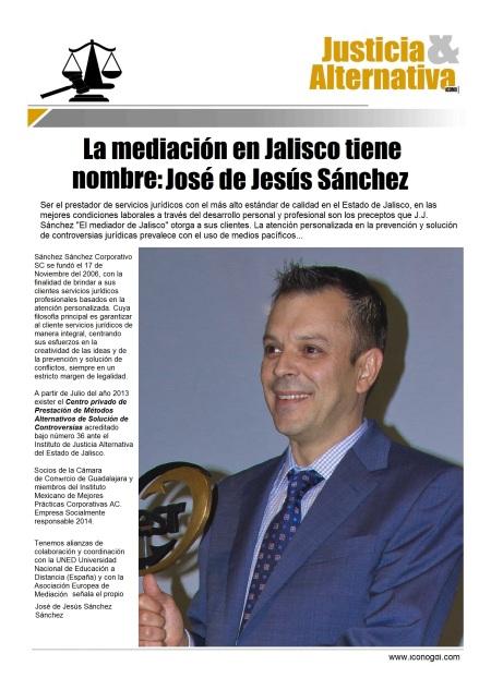 """José de Jesús Sánchez """"El Mediador"""""""