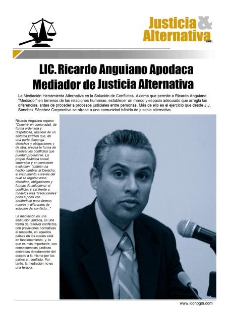 Lic. Ricardo Anguiano Apodaca