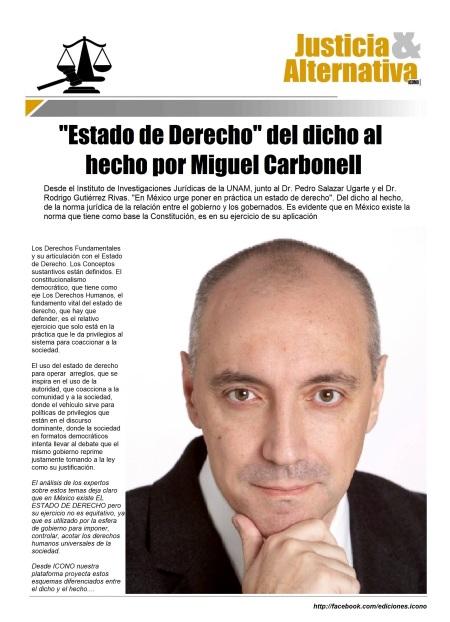 Dr. Miguel Carbonell Sánchez